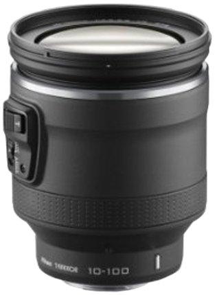 Nikon 1 Nikkor VR 10-100 mm 1:4,5-5,6 PD-Zoom Objektiv schwarz