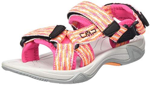 CMP – F.lli Campagnolo Unisex-Kinder Kids Hamal Hiking Sandal Trekking-& Wandersandalen, Orange (BOUGANVILLE H620), 40 EU