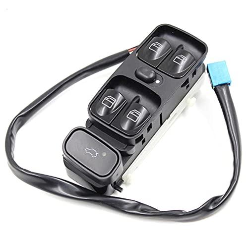 Aliyeyee 2098203410 A2098203410 para Mercedes C Class W203 C180 C200 C220 Interruptor de Ventana de Control de energía 2038200110 2038210679
