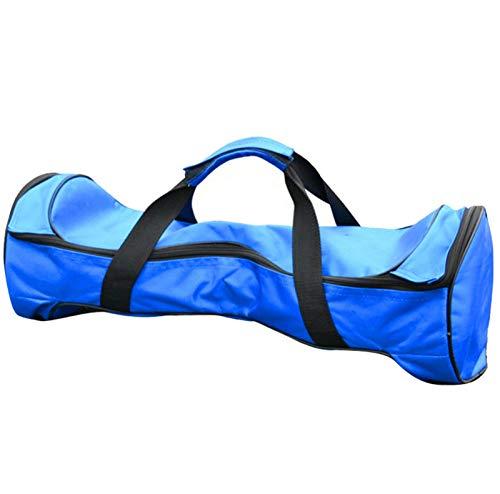 Qians Hoverboard Bag 65 Zoll Schwarz Blau Wasserdicht Oxford Material Hoverboard Rucksack Tasche Tragbare Durable Scooter Handtasche Aufbewahrungstasche Mit Netztasche Special