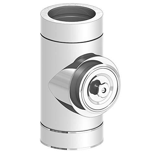 Reinigungselement Putztür rund-Edelstahlschornsteine Jeremias Ø160mm