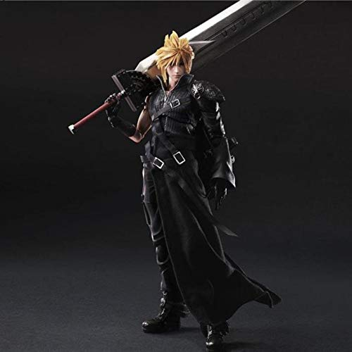 BINGFENG Action-Figur Final Fantasy 7 Cloud Play Arts Spielzeug Modell Anime Spielzeug Statue Dekoration Boxed 28CM
