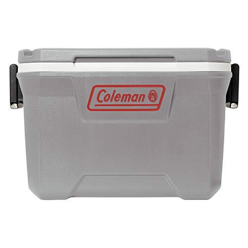Coleman Ice Chest | 52 Quart Hard Cooler, Rock Gray