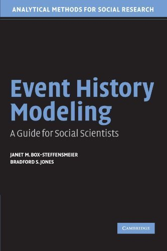 Event History Modeling: A Guide for Social Scientists (Analytical Methods for Social Research) by Box-Steffensmeier, Janet M., Jones, Bradford S. (2004) Paperback