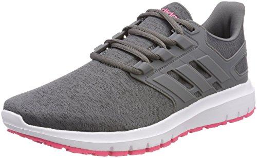 adidas Energy Cloud 2.0, Zapatillas de Running Mujer, Gris (Greone/grefou), 37 1/3 EU