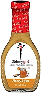 Skinny Girl Honey Dijon Fat Free Sugar Free Dressing 8oz (2 Pack)