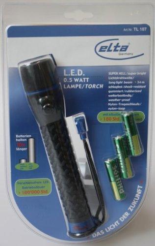 Elta L.E.D. Lamp zaklamp super helder TL 107