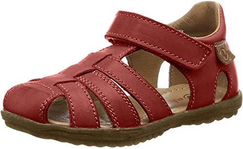 Naturino Unisex-Kinder See Geschlossene Sandalen, Rot (rot), 24 EU