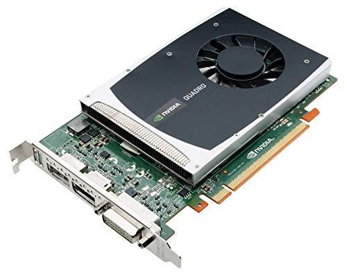 PNY NVIDIA Quadro 2000 Grafikkarte 1 GB GDDR5 PCI Express Gen 2 x16 DVI I DL und Dual DisplayPort OpenGL Direct X CUDA und OpenCL Profesional VCQ2000 PB zertifiziert generaluberarbeitet