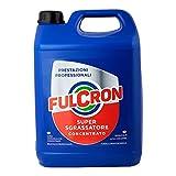 Fulcron 5L, sgrassatore detergente concentrato per sporco ostinato, pulizia motori, casa, nautica, tempo libero