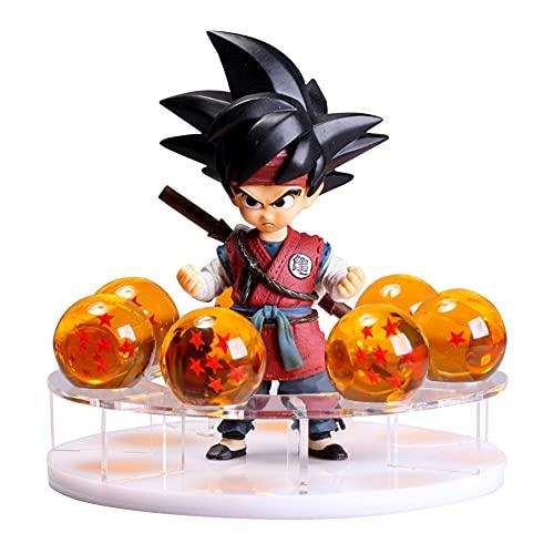 Figuras de Dragon Ball Z Luz de noche LED Serie DBZ Estatua de personajes Resina Bola de...