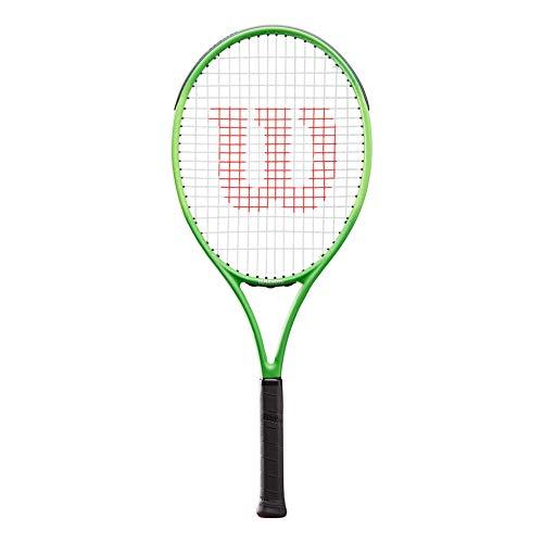 Wilson Blade Feel 26 Encordado: Sí 265G Raquetas De Tenis Raqueta De Niños Verde - Negro 0