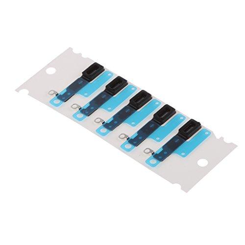 Gazechimp 5X Hörmuschel Lautsprecher Anti Staub Mesh Adhesive Grill Für iPhone 7 7Plus / 7+ - Schwarz - iPhone 7