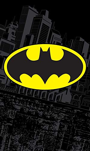 Carbotex Batman BAT171001-R Kinder-Handtuch 30 x 50 cm