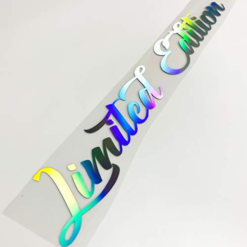 Limited Edition Aufkleber Hologramm Autoaufkleber Tuningsticker Regenbogenfarben Hologramm Sticker Oilslick