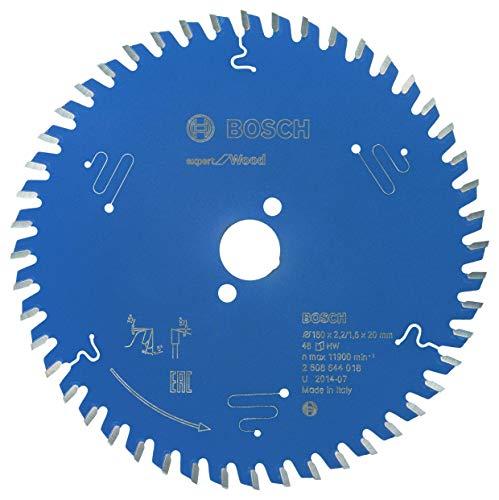 Bosch Professional Kreissägeblatt Expert für Wood (Holz, 160 x 20 x 2,2 mm, 48 Zähne, Zubehör Kreissäge)