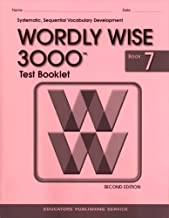 Test Booklet for Wordly Wise 3000, Book 7