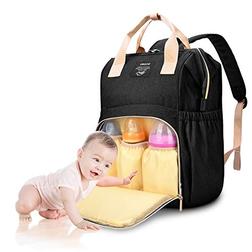 Baby Changing Bag Backpack, OSOCE Waterproof and Stylish Diaper Backpack...