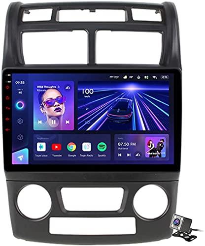 YIJIAREN Navigazione GPS Autoradio per K-IA Sportage 2 Je KM 2007-2012, Schermo tattile IPS Android 10.0 Autoradio Stereo Supporta Il Controllo del Volante BT Mirror-Link 4G WiFi