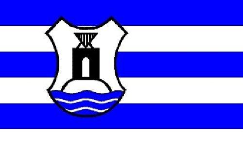 U24 Fahne Flagge Norderney mit Wappen Bootsflagge Premiumqualität 40 x 60 cm