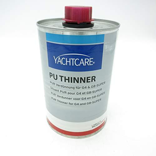 Yachtcare 1000ml PU Thinner PUR Verdünnung für G4 & G8 Super Polyurethan Lacke