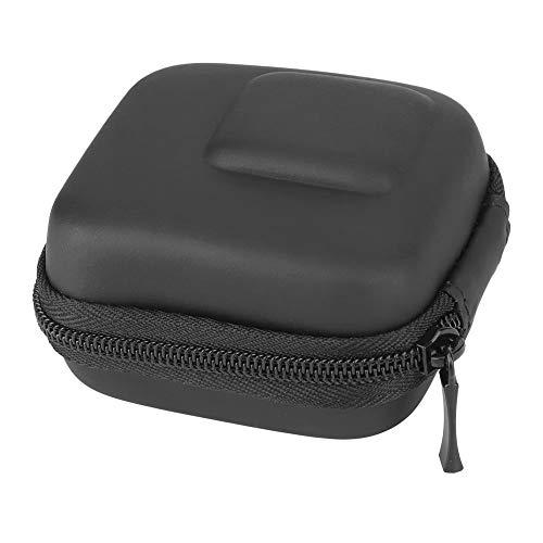 Akozon Funda Protectora de cámara Mini Bolsa de Almacenamiento portátil para dji OSMO Action/para SJCAM/para cámara de Movimiento XiaoYi(Negro)