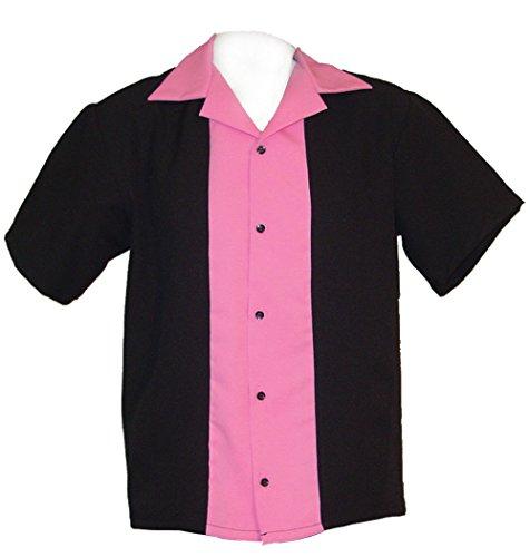Tutti Girls Bowling Shirts Hot Pink Youth Sizes Small 8-9 yrs, Medium 10-11 yrs, Large 12-13 (Medium 10-11 yrs)