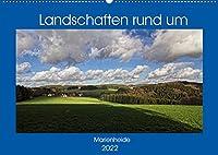 Landschaften rund um Marienheide (Wandkalender 2022 DIN A2 quer): Eine Gemeinde im schoenen Bergischen Land inmitten herrlicher Natur. (Monatskalender, 14 Seiten )