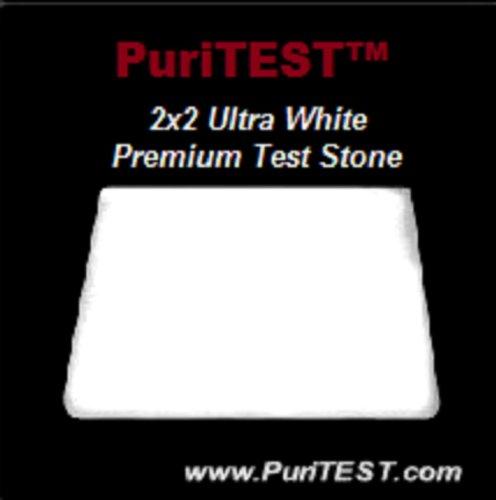 2x2 New White Pro Gold Test Stone Silver 9k 10k 14k 18k 22k 24k Sterling 999 925 Acid Testing Scratch Tool Tester Scrap Jewelry