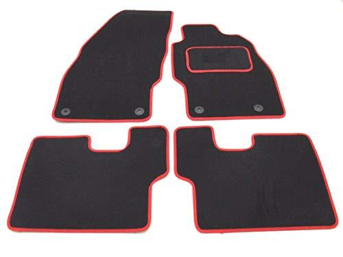 Car Magic 16442536016Automatten, in Schwarz/Rot