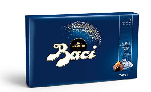 BACI PERUGINA Box 350g Classico Dark FINE Chocolate Truffle with Hazelnuts