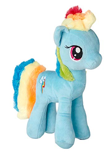 MLP My Little Pony Giocattoli di Peluche Animali di Peluche Piccoli Pony 27 cm (Rainbow Dash)