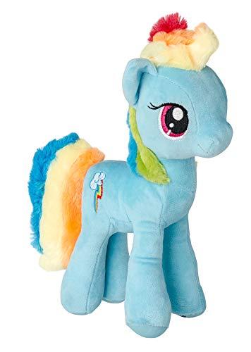 MLP My Little Pony Juguete Suave muñeco de Peluche pequeños Ponies 27 cm (Rainbow Dash)