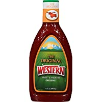 Western Original Sweet and Smooth French Salad Dressing