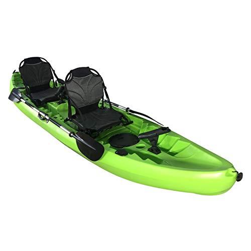 Cambridge Kayaks ES, Sun Fish TÁNDEM SÓLO 2 + 1,Verde, RIGIDO,Asiento Alto