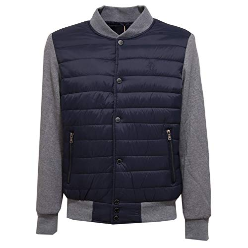 2537J Giubbotto Felpa Uomo U.S. POLO ASSN. Blue Ultralight Jacket Man [M]