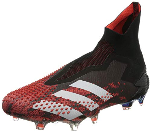 adidas Herren Predator Mutator 20+ FG Fußballschuh, CBLACK/FTWWHT/ACTRED, 36 EU