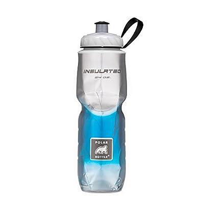 Polar Bottle Insulated Water Bottle 24 oz - 100% BPA-Free Cycling & Sports Water Bottle (Blue Fade, 24 Ounce)