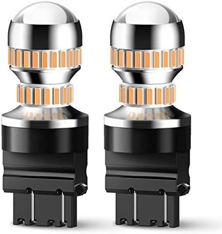 JDM ASTAR 1260 Lumens Extremely Bright PX Chips 3057 3157 4057 4157 Red Brake LED Bulb