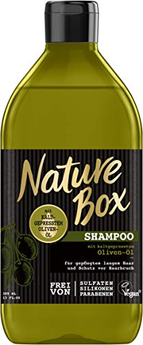 NATURE BOX Shampoo Oliven-Öl, 6er Pack (6 x 385 ml)