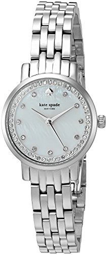 Kate Spade Women's Mini Monterey 24mm Steel Bracelet Quartz Watch KSW1241