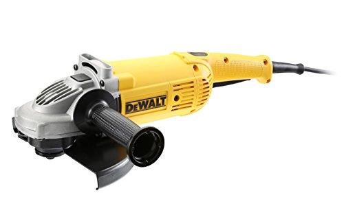 Dewalt DWE492S-QS Amoladora 230 mm 2.200W 6.500 RPM Arranque Suave, Arándano, 2200 W