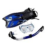Vecksoy Premium Snorkel Set Adulto Snorkeling Cara Engranaje Traje...