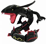 SUOUEM Rayquaza Plush Doll Stuffed Figure Toy 31 inch Gift (Black)