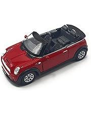 K Modelo de coche de colección Mini a escala 1:28 (Red)