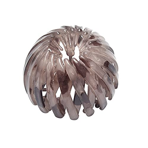 mlloaayo Accesorios Simples para La Cabeza Bolas con Hebilla De Cola De Caballo Pinza para El Cabello Horquilla con Forma De Nido De Pájaro Decoración para El Cabello