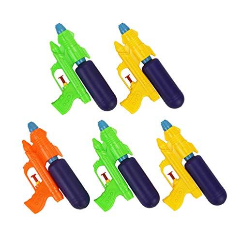 TOYANDONA 5 Piezas Pistolas de Agua Super Pistolas de Chorro Agua Soaker Blaster Verano Playa Juguete Piscina Al Aire Libre Lucha contra El Agua Jugar Juguetes Al Azar