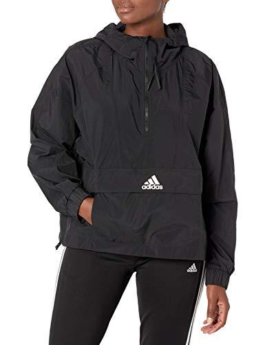 adidas Damen Cropped Wind.rdy Windbreaker, Damen, Jacke, W Cropped W.rdy, schwarz, Medium