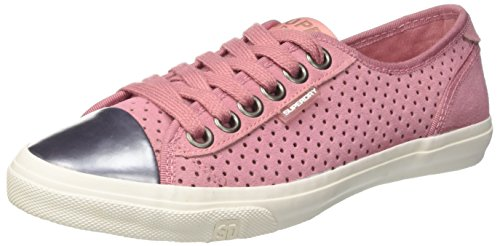 Superdry Low Pro Luxe, Zapatos de Cordones Derby Mujer