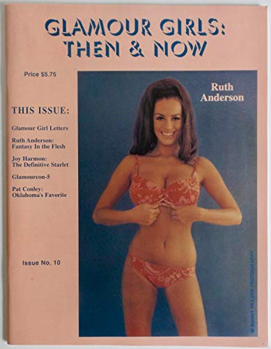 Original 1995'Glamour Girls: Then & Now' Magazine Published by Iconic Pin-Up Photographer Bunny Yeager, Ruth Anderson Cover Sexy Joy Harman